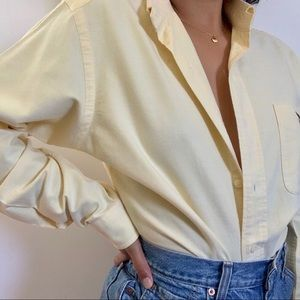 Vintage Long Sleeve Button Up